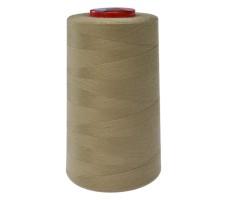 Нитки швейные MH 100% п/э цвет 1391 зелено-коричневый