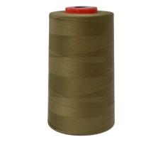 Нитки швейные MH 100% п/э цвет 1394 коричнево-зеленый