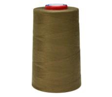 Нитки швейные MH 100% п/э цвет 1398 коричнево-зеленый