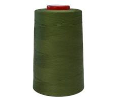 Нитки швейные MH 100% п/э цвет 1419 хаки