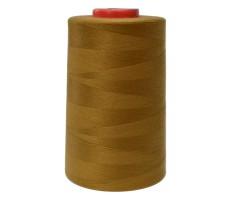 Нитки швейные MH 100% п/э цвет 1438 коричнево-желтый
