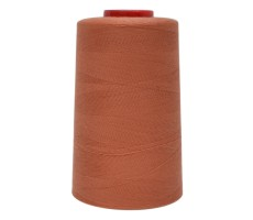 Нитки швейные MH 100% п/э цвет 1447 светло-кирпичный