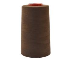Нитки швейные MH 100% п/э цвет 1496 серо-коричневый