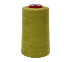 Нитки швейные MH 100% п/э цвет 1525 оливково-зеленый