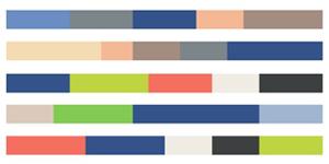Модные цвета в одежде 2020