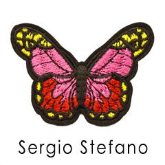 Аппликация бабочка текстиль. Купить аппликации оптом
