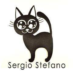 Аппликация кот. Принт, клеевая аппликация от Сержио Стефано