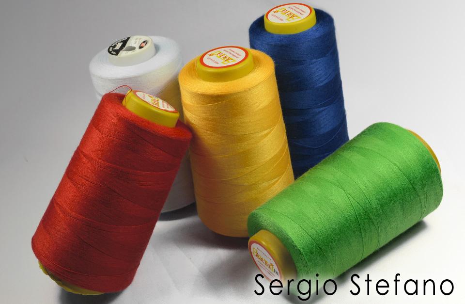 Купить нитки швейные оптом. Швейная фурнитура Сержио Стефано